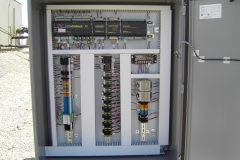 Gas lift RTU panel