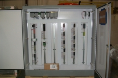 Allan Bradly controller and  I/O cabinet for control of an acid plant